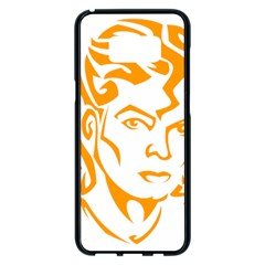 The King Of Pop Samsung Galaxy S8 Plus Black Seamless Case