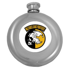 Metal Gear Solid Skull Skulls Round Hip Flask (5 Oz)