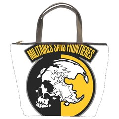 Metal Gear Solid Skull Skulls Bucket Bags