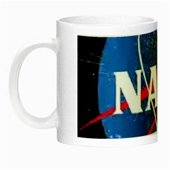 Nasa Logo Night Luminous Mugs by Samandel