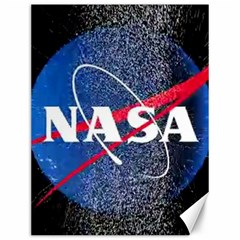 Nasa Logo Canvas 12  X 16   by Samandel