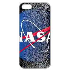 Nasa Logo Apple Seamless Iphone 5 Case (clear) by Samandel