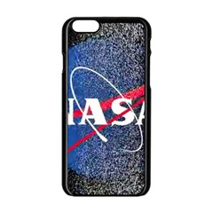 Nasa Logo Apple Iphone 6/6s Black Enamel Case by Samandel