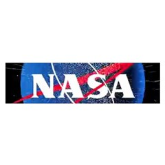Nasa Logo Satin Scarf (oblong) by Samandel
