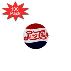 Pepsi Cola Cap 1  Mini Buttons (100 Pack)  by Samandel