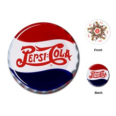 Pepsi Cola Cap Playing Cards (round)