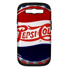 Pepsi Cola Cap Samsung Galaxy S Iii Hardshell Case (pc+silicone) by Samandel