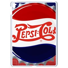 Pepsi Cola Cap Apple Ipad Pro 9 7   White Seamless Case by Samandel