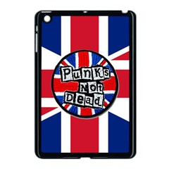 Punk Not Dead Music Rock Uk United Kingdom Flag Apple Ipad Mini Case (black)