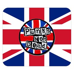 Punk Not Dead Music Rock Uk United Kingdom Flag Double Sided Flano Blanket (small)