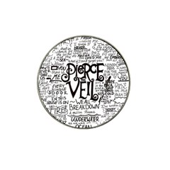 Pierce The Veil Music Band Group Fabric Art Cloth Poster Hat Clip Ball Marker (4 Pack) by Samandel