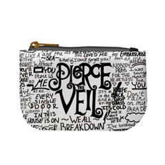 Pierce The Veil Music Band Group Fabric Art Cloth Poster Mini Coin Purses by Samandel