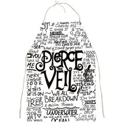 Pierce The Veil Music Band Group Fabric Art Cloth Poster Full Print Aprons