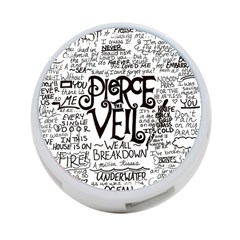 Pierce The Veil Music Band Group Fabric Art Cloth Poster 4 Port Usb Hub (one Side) by Samandel