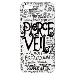 Pierce The Veil Music Band Group Fabric Art Cloth Poster Apple Iphone 5 Hardshell Case by Samandel
