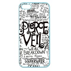 Pierce The Veil Music Band Group Fabric Art Cloth Poster Apple Seamless Iphone 5 Case (color) by Samandel