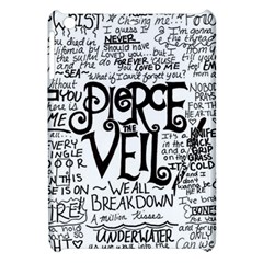 Pierce The Veil Music Band Group Fabric Art Cloth Poster Apple Ipad Mini Hardshell Case by Samandel