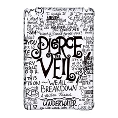 Pierce The Veil Music Band Group Fabric Art Cloth Poster Apple Ipad Mini Hardshell Case (compatible With Smart Cover)