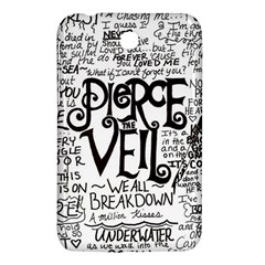 Pierce The Veil Music Band Group Fabric Art Cloth Poster Samsung Galaxy Tab 3 (7 ) P3200 Hardshell Case  by Samandel
