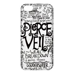 Pierce The Veil Music Band Group Fabric Art Cloth Poster Apple Iphone 5c Hardshell Case by Samandel