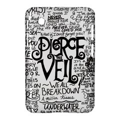 Pierce The Veil Music Band Group Fabric Art Cloth Poster Samsung Galaxy Tab 2 (7 ) P3100 Hardshell Case  by Samandel