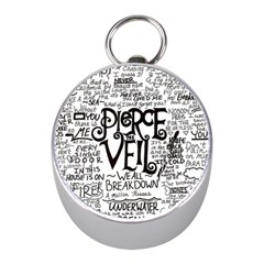 Pierce The Veil Music Band Group Fabric Art Cloth Poster Mini Silver Compasses by Samandel