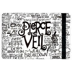 Pierce The Veil Music Band Group Fabric Art Cloth Poster Ipad Air 2 Flip by Samandel