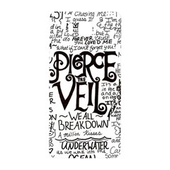 Pierce The Veil Music Band Group Fabric Art Cloth Poster Samsung Galaxy Alpha Hardshell Back Case by Samandel