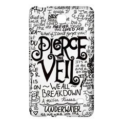 Pierce The Veil Music Band Group Fabric Art Cloth Poster Samsung Galaxy Tab 4 (7 ) Hardshell Case  by Samandel