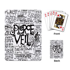 Pierce The Veil Music Band Group Fabric Art Cloth Poster Playing Card by Samandel