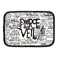 Pierce The Veil Music Band Group Fabric Art Cloth Poster Netbook Case (medium)  by Samandel