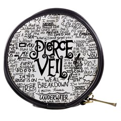 Pierce The Veil Music Band Group Fabric Art Cloth Poster Mini Makeup Bags by Samandel