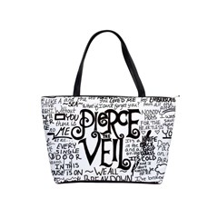 Pierce The Veil Music Band Group Fabric Art Cloth Poster Shoulder Handbags by Samandel