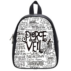 Pierce The Veil Music Band Group Fabric Art Cloth Poster School Bag (small) by Samandel