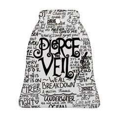 Pierce The Veil Music Band Group Fabric Art Cloth Poster Ornament (bell) by Samandel