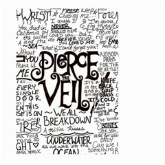 Pierce The Veil Music Band Group Fabric Art Cloth Poster Large Garden Flag (two Sides) by Samandel