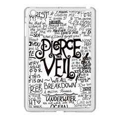Pierce The Veil Music Band Group Fabric Art Cloth Poster Apple Ipad Mini Case (white) by Samandel