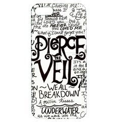 Pierce The Veil Music Band Group Fabric Art Cloth Poster Apple Iphone 5 Hardshell Case With Stand by Samandel