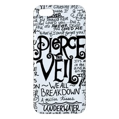 Pierce The Veil Music Band Group Fabric Art Cloth Poster Apple Iphone 5 Premium Hardshell Case by Samandel