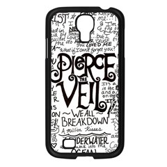 Pierce The Veil Music Band Group Fabric Art Cloth Poster Samsung Galaxy S4 I9500/ I9505 Case (black) by Samandel