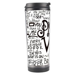 Pierce The Veil Music Band Group Fabric Art Cloth Poster Travel Tumbler by Samandel