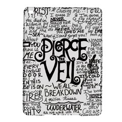 Pierce The Veil Music Band Group Fabric Art Cloth Poster Ipad Air 2 Hardshell Cases by Samandel