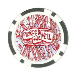 Pierce The Veil  Misadventures Album Cover Poker Chip Card Guard (10 Pack) by Samandel