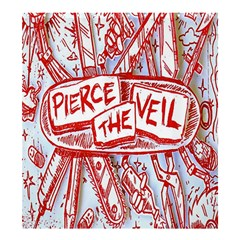 Pierce The Veil  Misadventures Album Cover Shower Curtain 66  X 72  (large)  by Samandel