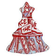 Pierce The Veil  Misadventures Album Cover Christmas Tree Ornament (two Sides) by Samandel