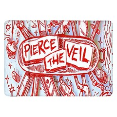 Pierce The Veil  Misadventures Album Cover Samsung Galaxy Tab 8 9  P7300 Flip Case by Samandel