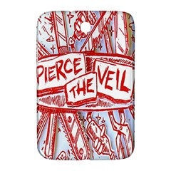 Pierce The Veil  Misadventures Album Cover Samsung Galaxy Note 8 0 N5100 Hardshell Case  by Samandel