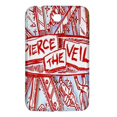 Pierce The Veil  Misadventures Album Cover Samsung Galaxy Tab 3 (7 ) P3200 Hardshell Case  by Samandel