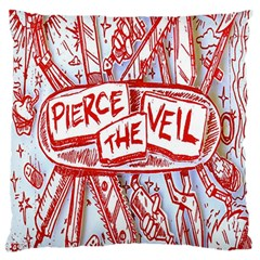 Pierce The Veil  Misadventures Album Cover Standard Flano Cushion Case (one Side) by Samandel