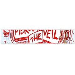 Pierce The Veil  Misadventures Album Cover Large Flano Scarf  by Samandel
